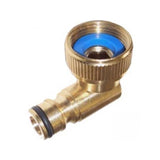 90˚ Swivel Brass Quick Release Water Coupling