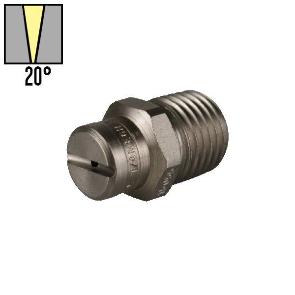 045 KNIFE JET 20º HIGH PRESSURE NOZZLE M20045