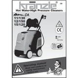 Operating Manual & Spare Parts Diagrams Kranzle CA 11/130 2009>