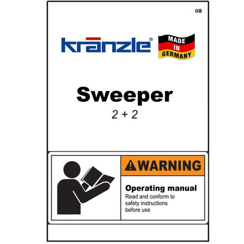 Power Sweeper 2+2 Operating Manuals & Diagrams