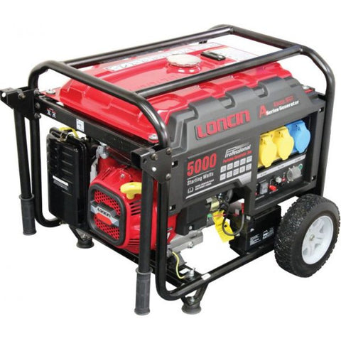 Loncin 4.0kW Recoil/Electric Start Generator