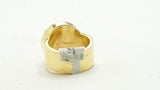 14k Yellow Gold Diamond Pinky Ring 25 G
