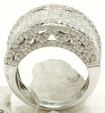 14k White Gold Pinky Ring 16.4 G