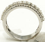 14k Half Diamond Eternity Band 8.6 G
