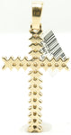 14k Pointy Cross