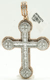 Baguette Cross Pendant