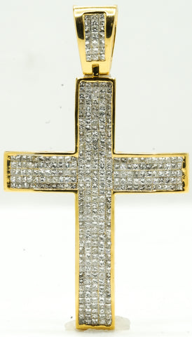 Invisible Set Diamond Cross 34.2 G