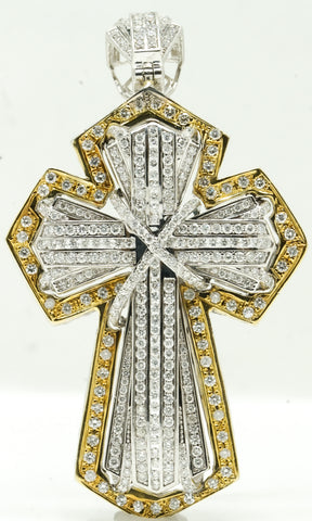Classic Gold Diamond Cross