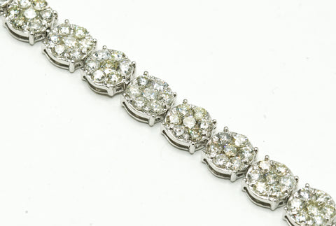 Women Cluster Diamond Bracelet
