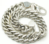 Luxury White Gold Cuban Bracelet