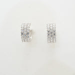 Round Diamond Women's Earring