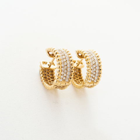 Round Women's Earring