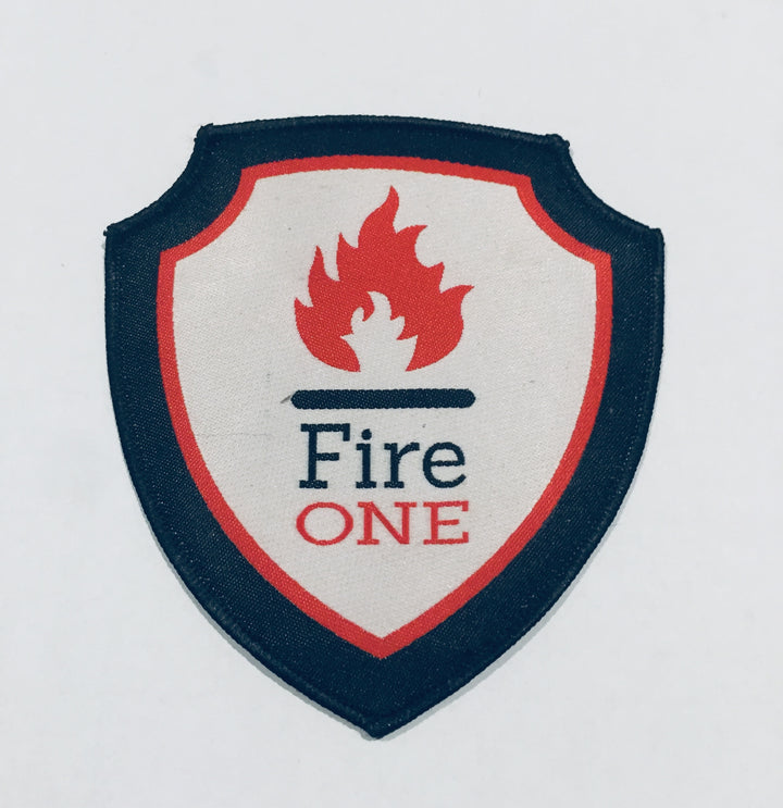 Fire One shoulder badge