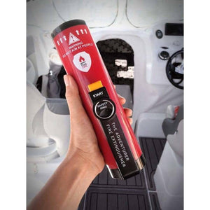 THE ADVENTURER The Journeymans Protection - Fire Extinguisher 4wd Auto Boat Camper Campervan