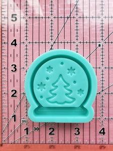 Tree Snow Globe Shaker Mold