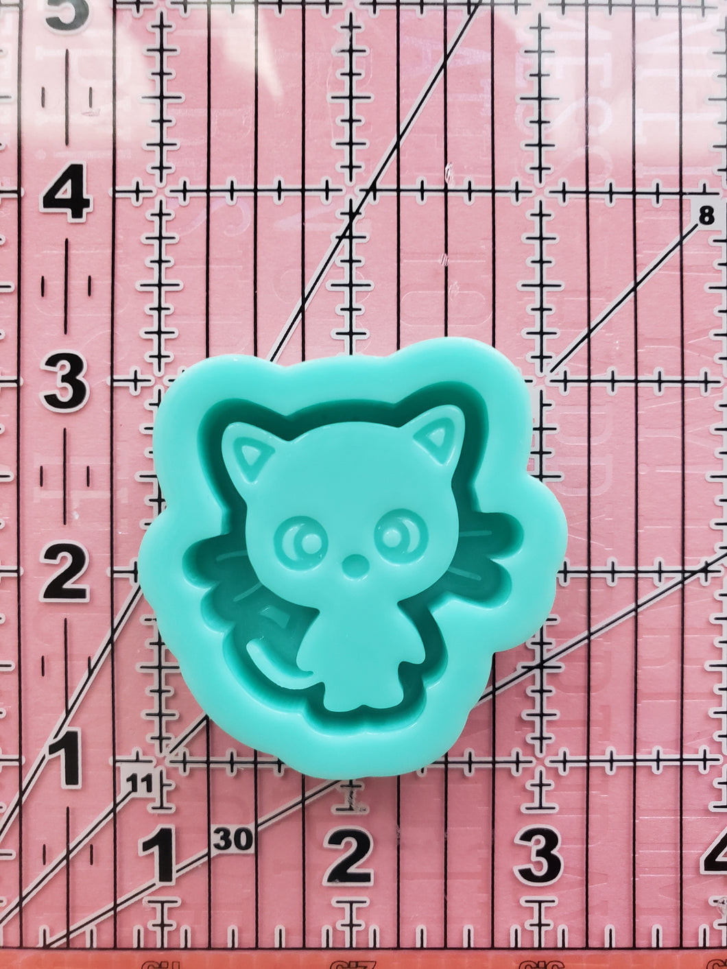 Chococat kitty Grippy Shaker silicone mold