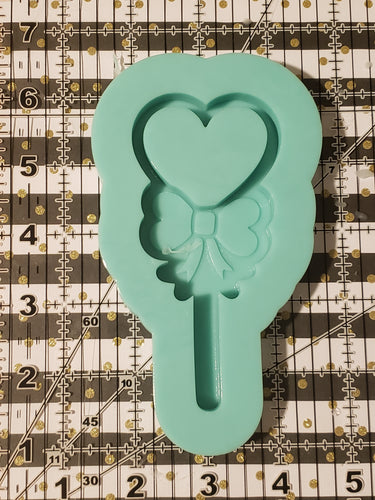 Lg Heart lollipop shaker silicone mold
