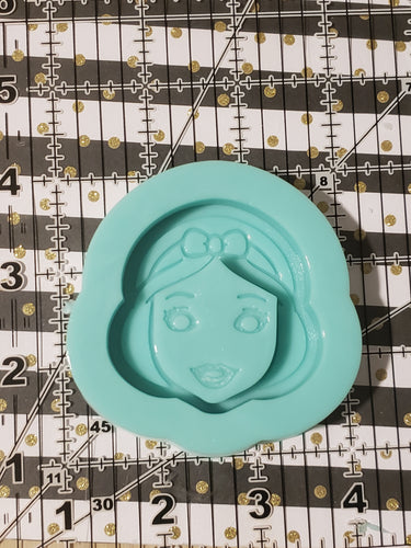 Snow white shaker silicone mold SALE