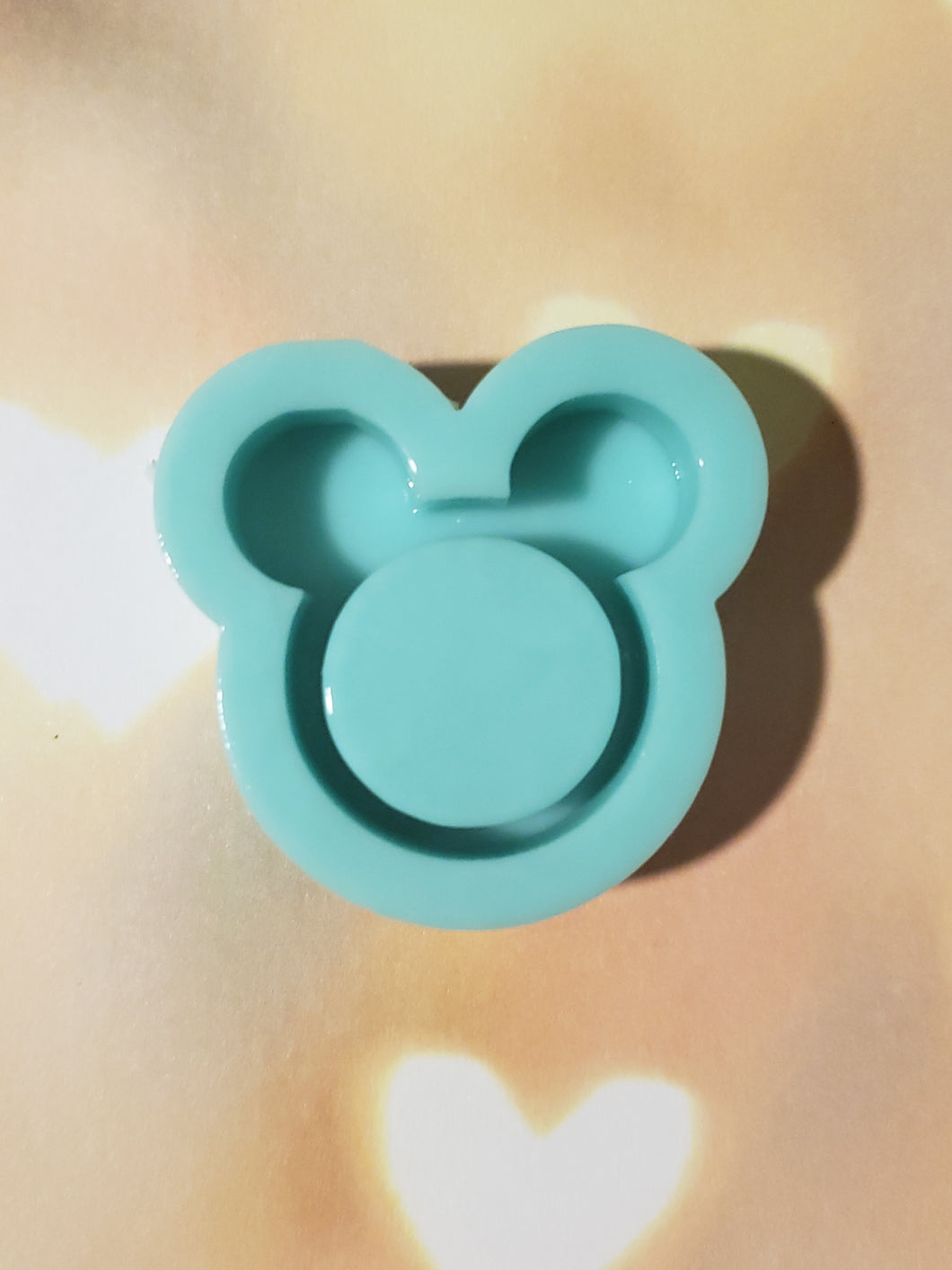 Mickey Outline Shaker Mold
