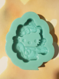 Hello kitty Christmas shaker mold