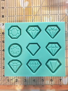 Diamond Grippy Shaker Mold