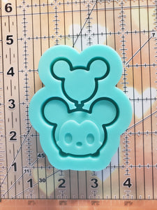 Mickey w/ Balloon Shaker Mold
