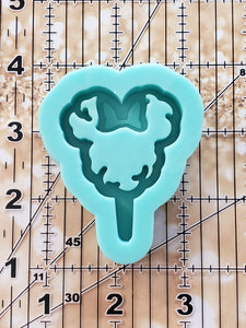 Medium Minnie Cotton Candy Shaker Mold