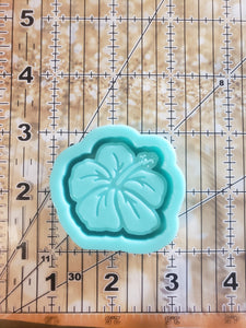 Hibiscus Grippy Shaker Mold