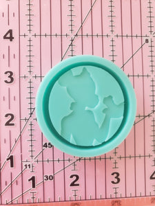 Princess and the Frog Grippy Shaker Mold