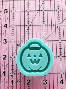 Trick or Treat Bucket Grippy Shaker Mold