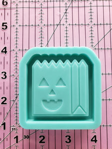 Trick or Treat Bag Shaker Mold