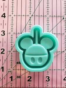 Mickey Candy Apple Grippy Shaker Mold