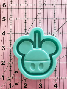 Mickey Candy Apple Shaker Mold