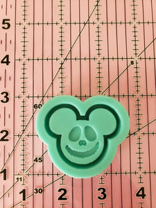 Halloween Mickey Grippy Shaker Mold