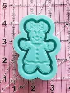 Minnie Gingerbread Shaker Mold