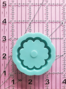 Flower Grippy Shaker Mold