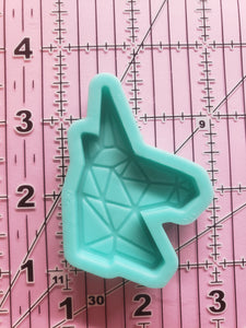 Unicorn Grippy Non-shaker Mold
