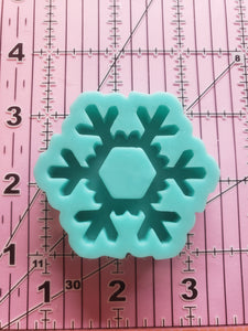 Snowflake Grippy Shaker Mold