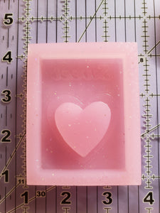 Valentine's Candy Box Shaker Mold