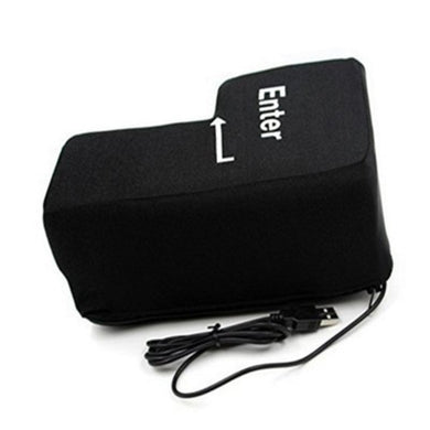 USB Big Enter Key Pillow