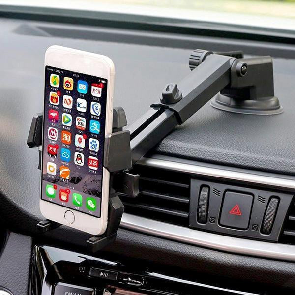 Rotary Car Mount Universal Phone Holder-Vehicles & Parts-Romancci.com