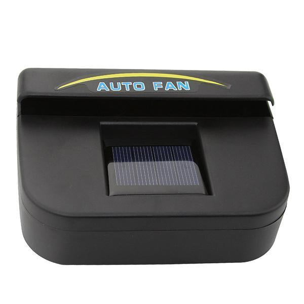 Solar Powered Car Window Windshield Auto Air Vent Cooling Fan