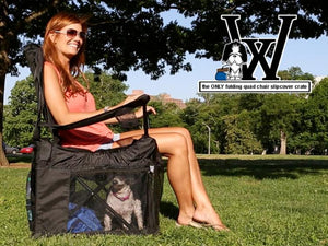 Wrapsit Converts Your Lawn Chair Into A Pet Crate