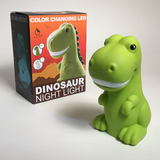 Dinosaur Color Changing LED Night Light