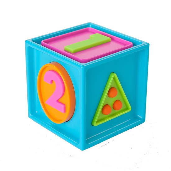 1 2 3 Smarty Cube