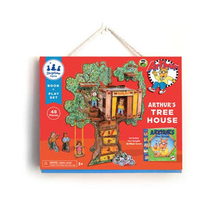 Arthur's Tree House Book and Play Set