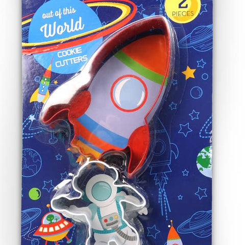 Rocket Cookie Cutters-Set of 2