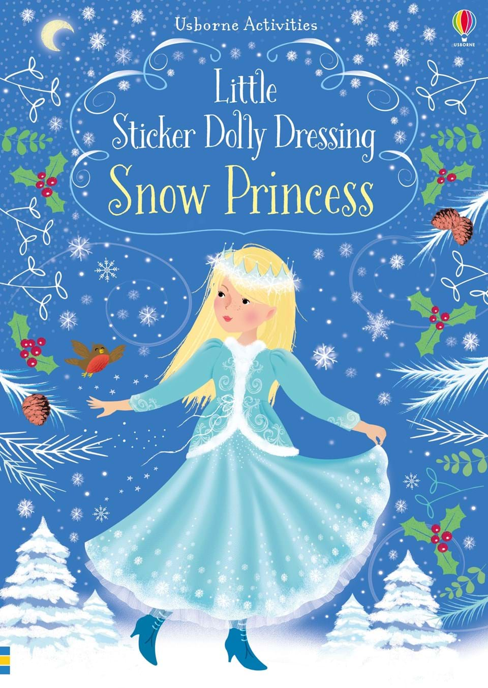 Little Sticker Dolly Dressing-Snow Princesses