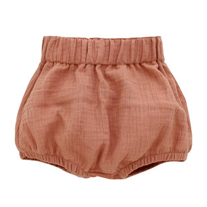 Blush Gauze Baby Bloomers