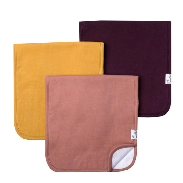 Jade Premium Burp Cloth Set
